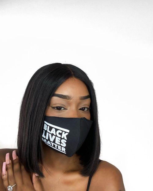 BLM Facemask one side