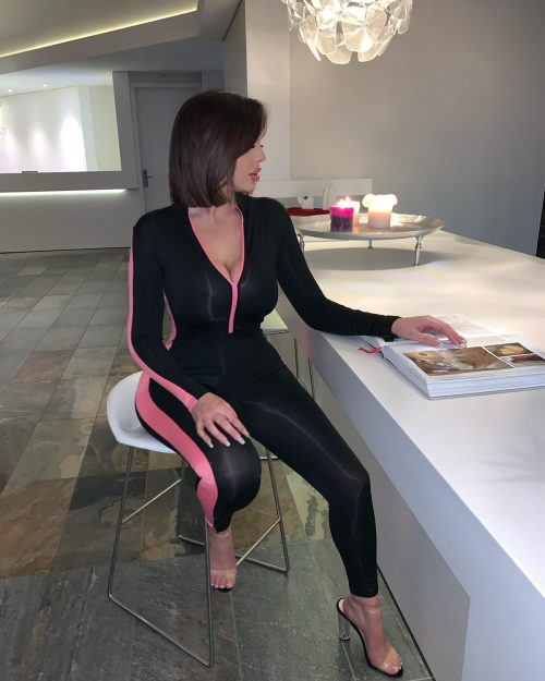 Comfy but sexy jumpsuit pink