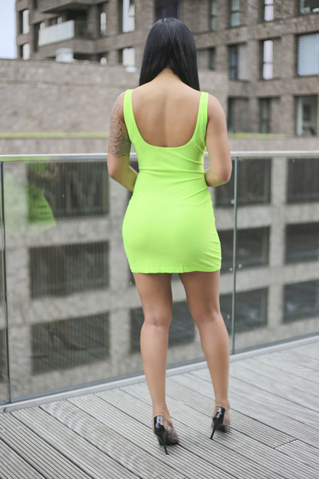 Unapologetic dress green