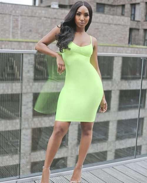 High class babe dress