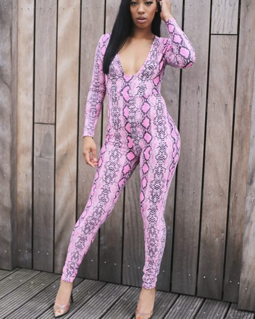 Snake around your body jumpsuit SALE