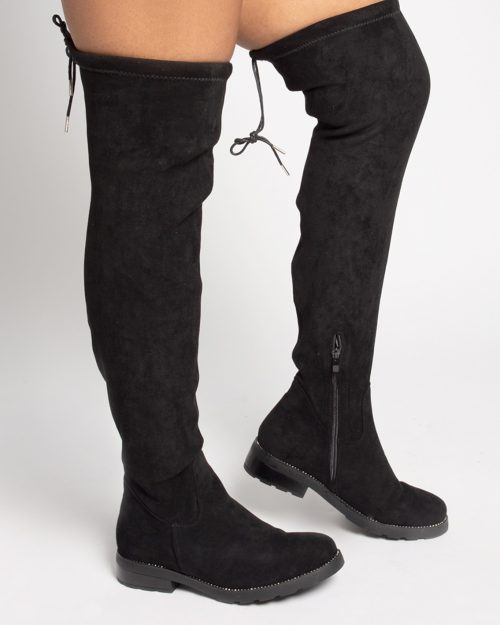 Over the knee boot bling