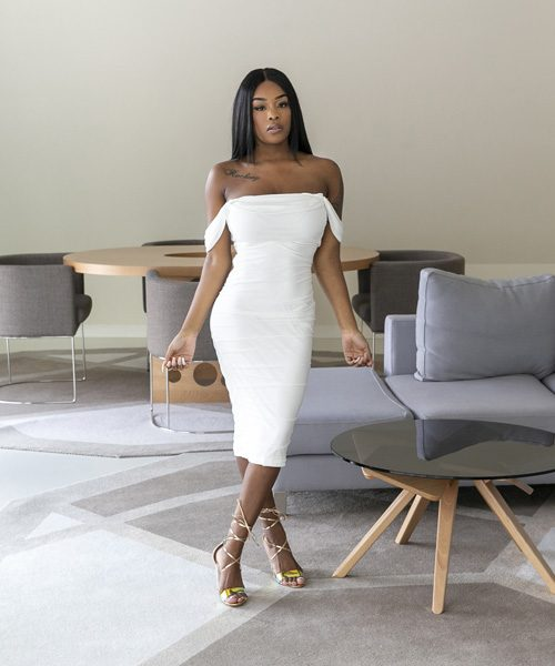 Elegance white dress
