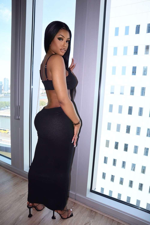 Palm Beach Dress Black Maxi
