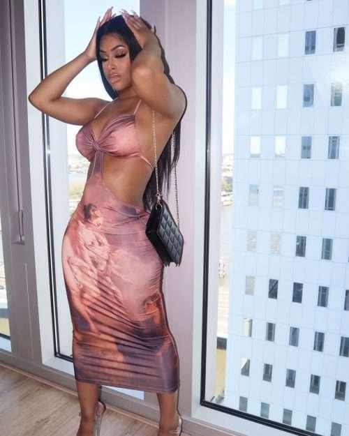 Palm Beach jesus piece Dress Midi