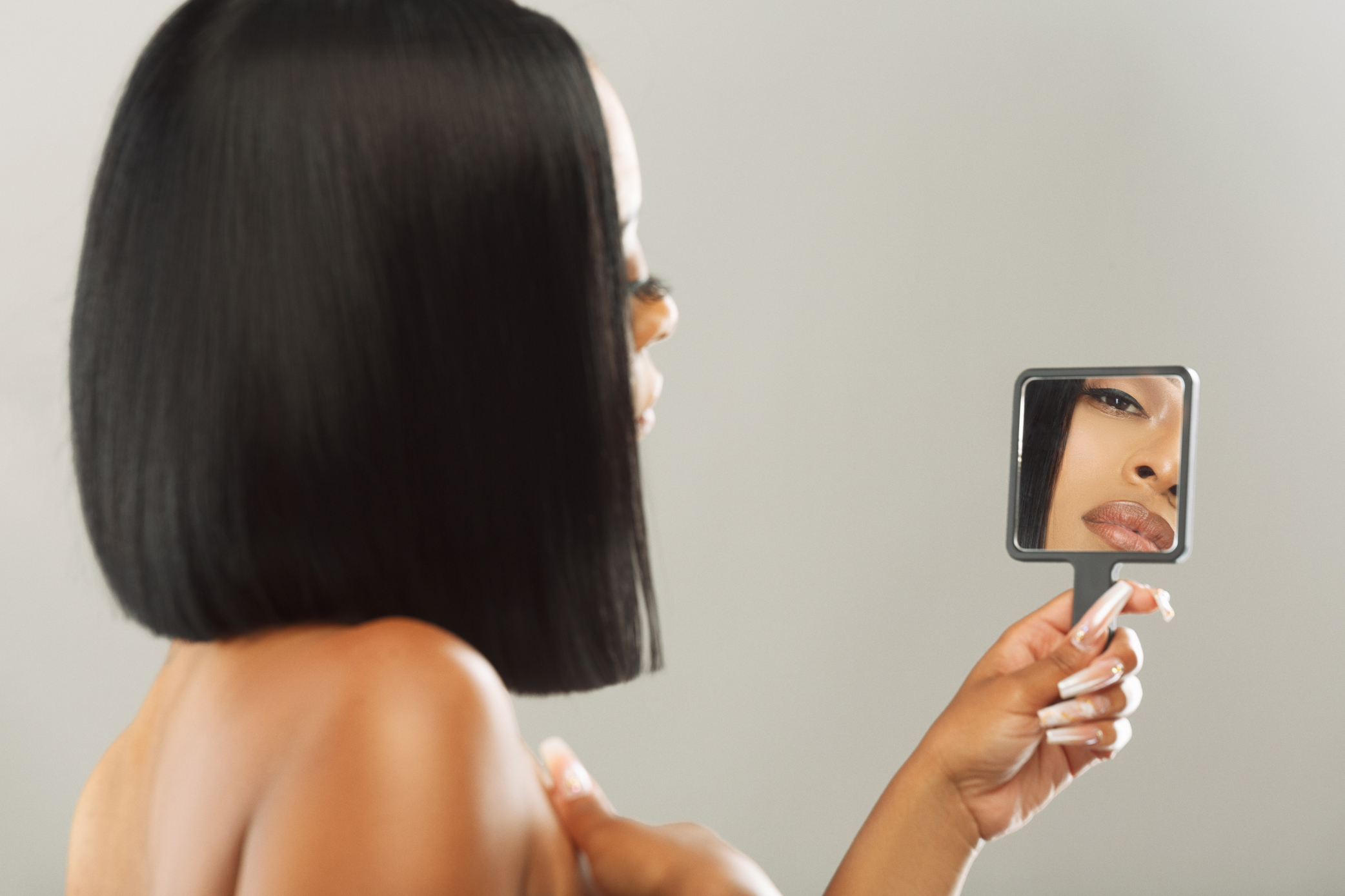 Our comb & Affirmations mirror