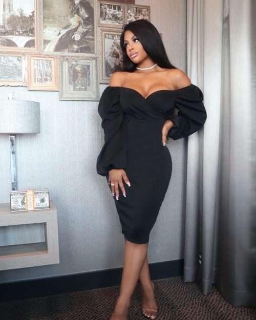 Date night dress black